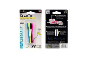 Nite Ize Gear Tie Cordable- Yuvalı Kablo Düzenleyici 4lü Paket