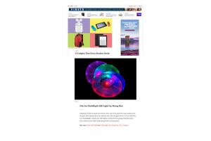 Nite Ize Flashflight LED Işıklı Frizbi Time Dergisinde