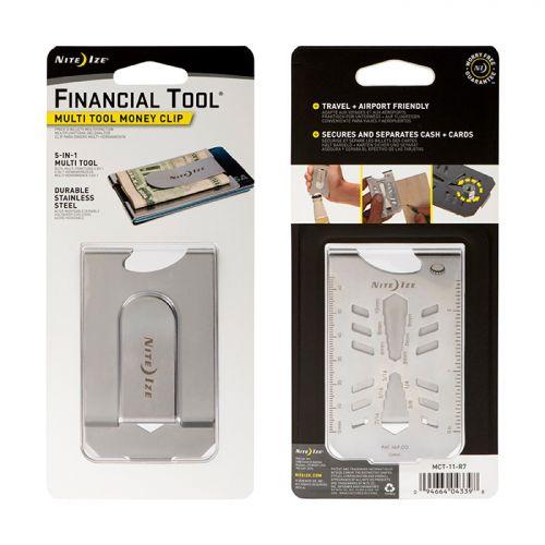 Nite Ize Financial Tool Çok Amaçlı Kartlık / Para Klipsi